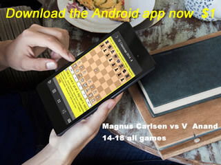 Carlsen Chess app of the day
