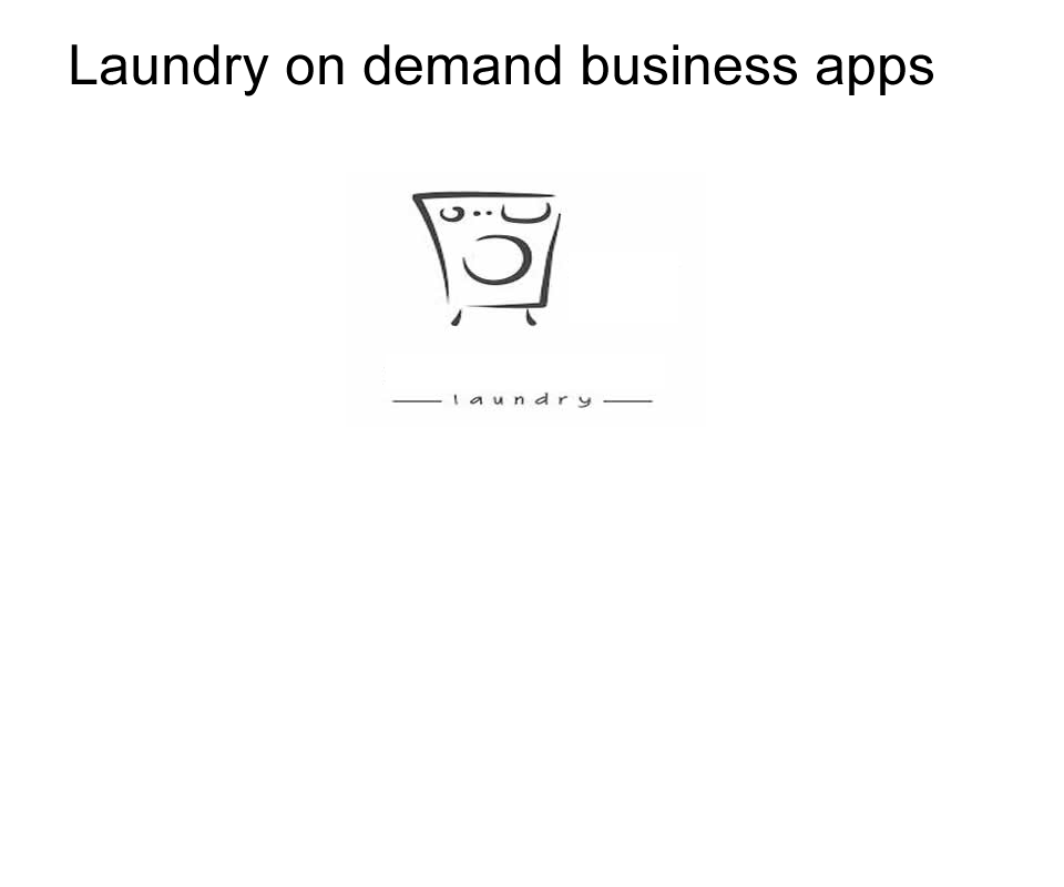 laundry services app