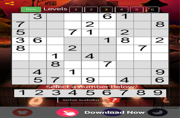 Sudoku from the best of mobile app development companies