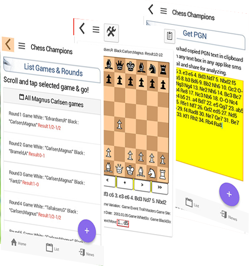 Chess games Anand vs Carlsen  Android and iOS Chess Apps for