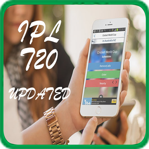 Cricket World IPL T20 mobile app.