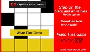 black tile game