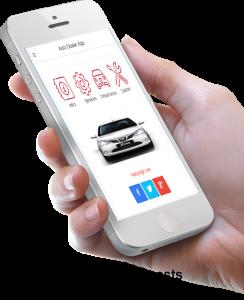 Mobile Auto Dealer app phonegap enterprise apps