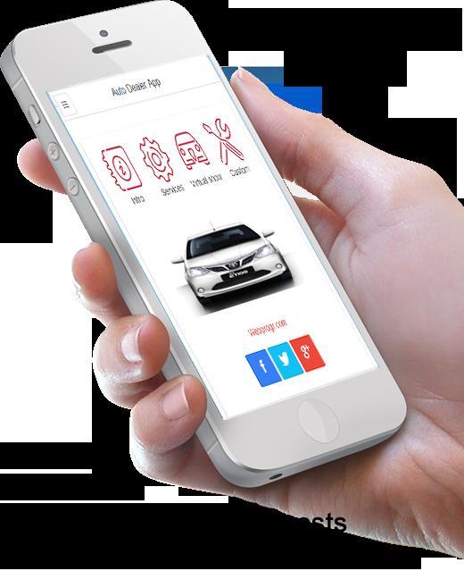 Mobile Auto Dealer app