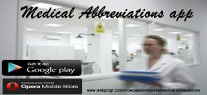 Medical abbreviations mobile app patient-centric app