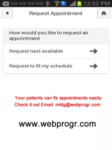 dental clinic marketing app