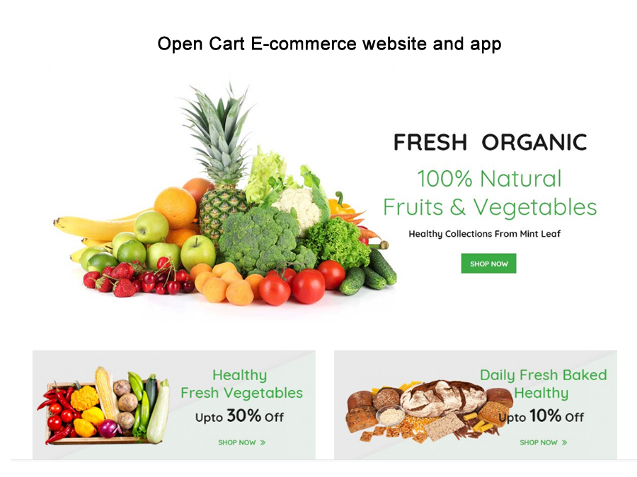 Open cart e commerce